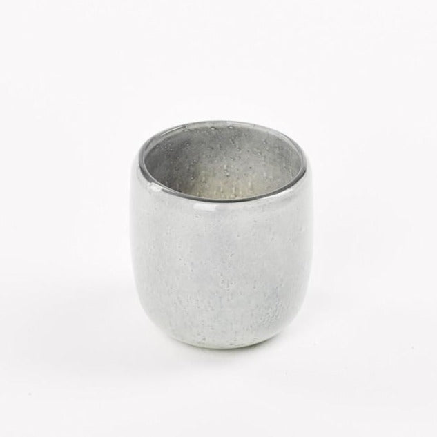 Medium grey candle holder - Zetuké Home Decor