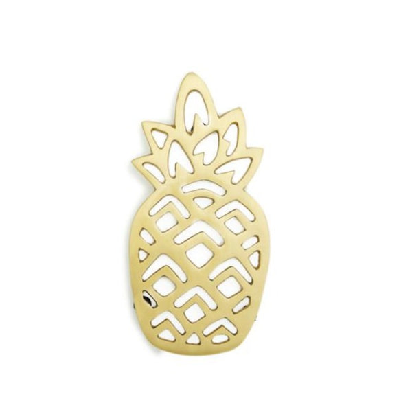 Pineapple trivet gold - Zetuké Home Decor