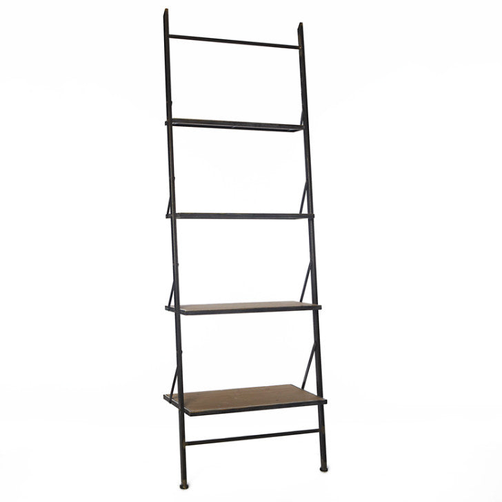 Wall rack wood and iron - Zetuké Home Decor