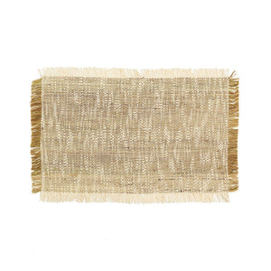Line placemat with fringes - Zetuké Home Decor