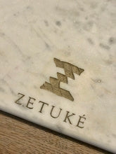 Load image into Gallery viewer, White marble and wood cutting board - Zetuké Home Decor
