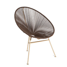 Load image into Gallery viewer, Egg chair brown - Zetuké Home Decor