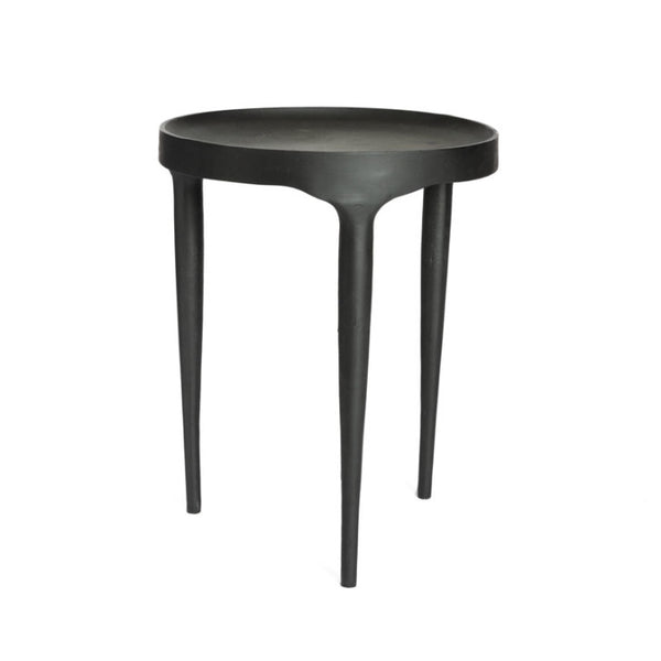 Side table black tall - Zetuké Home Decor