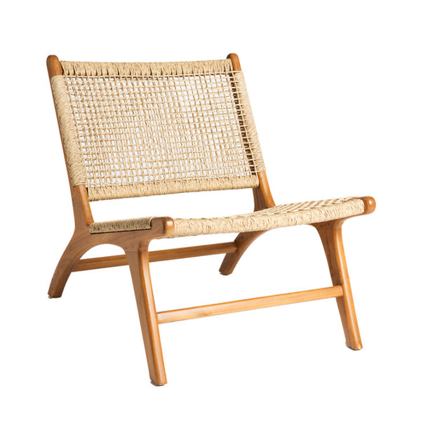 Teak lounge chair viro seat - Zetuké Home Decor
