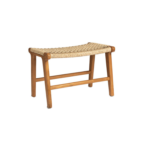 Footstool rattan - Zetuké Home Decor