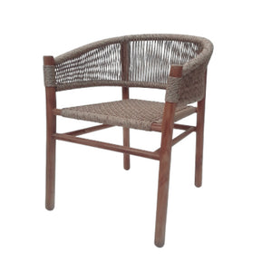 Teak chair viro seat