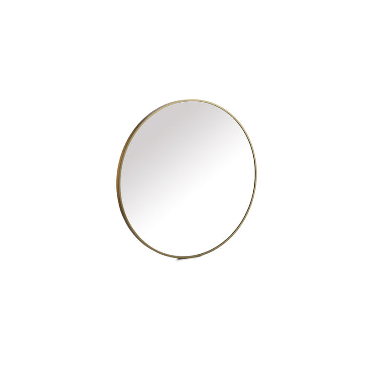 Mirror round golden frame - Zetuké Home Decor