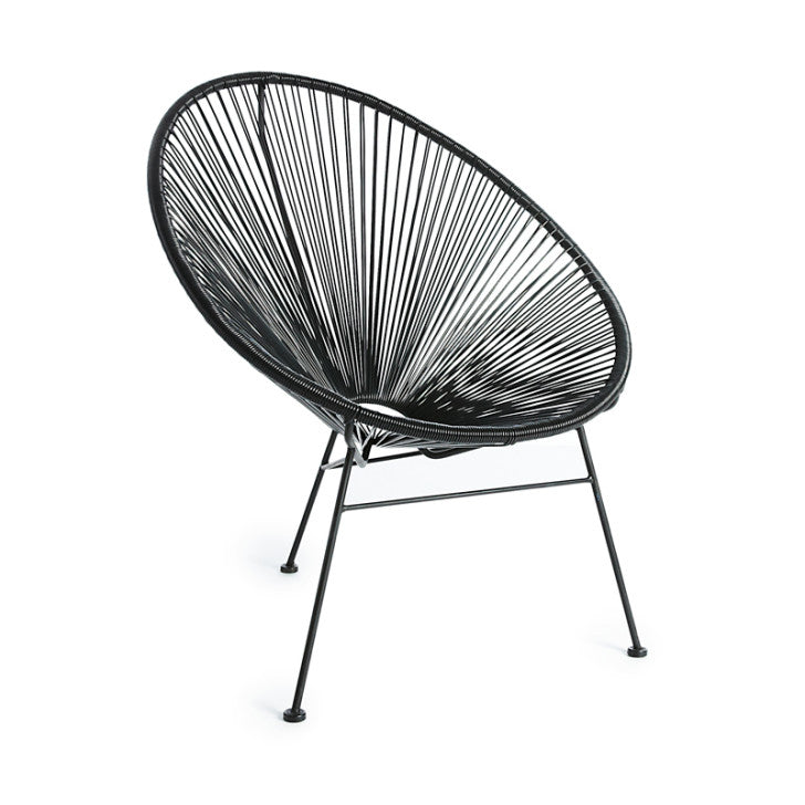 Egg chair black - Zetuké Home Decor