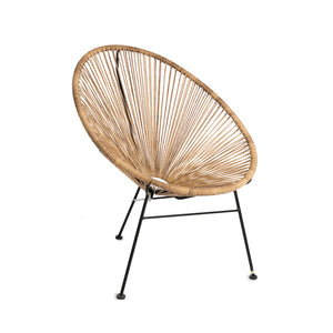 Egg chair natural - Zetuké Home Decor