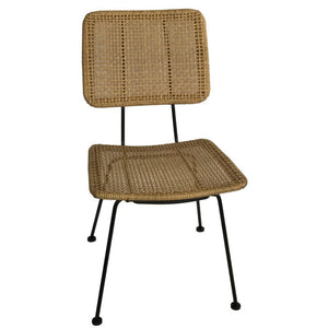 Rattan dining chair - Zetuké Home Decor