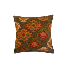 Load image into Gallery viewer, Kilim pillow Kijani