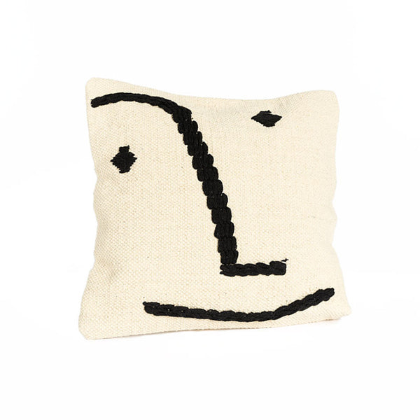 Pillow with smiley face - Zetuké Home Decor