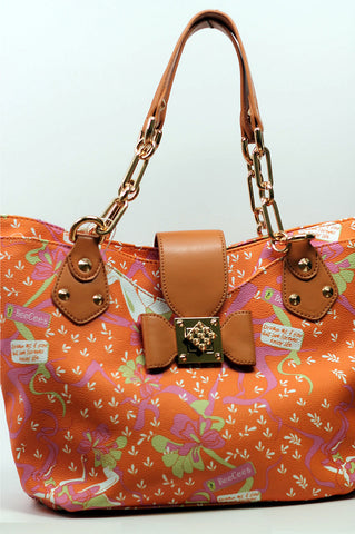 Angel Gold Link Tote