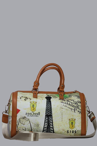 Eiffel Logo Handbag - Medium