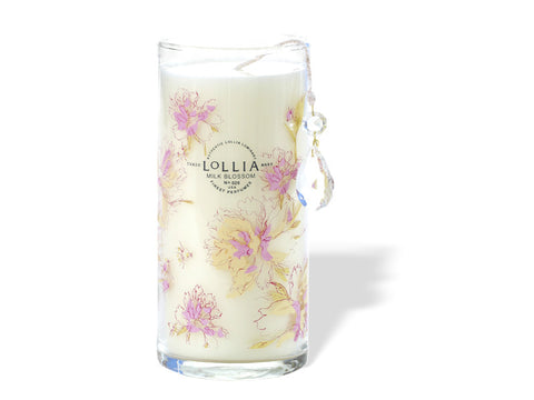 Breathe Milk Blossom Tall Luminary