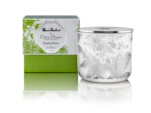 Circa Home Florence Broadhurst natural room fragrance tropical flora classic soy candles
