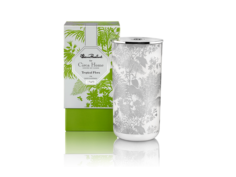 Circa Home Florence Broadhurst natural room fragrance tropical flora perfect spaces soy candles
