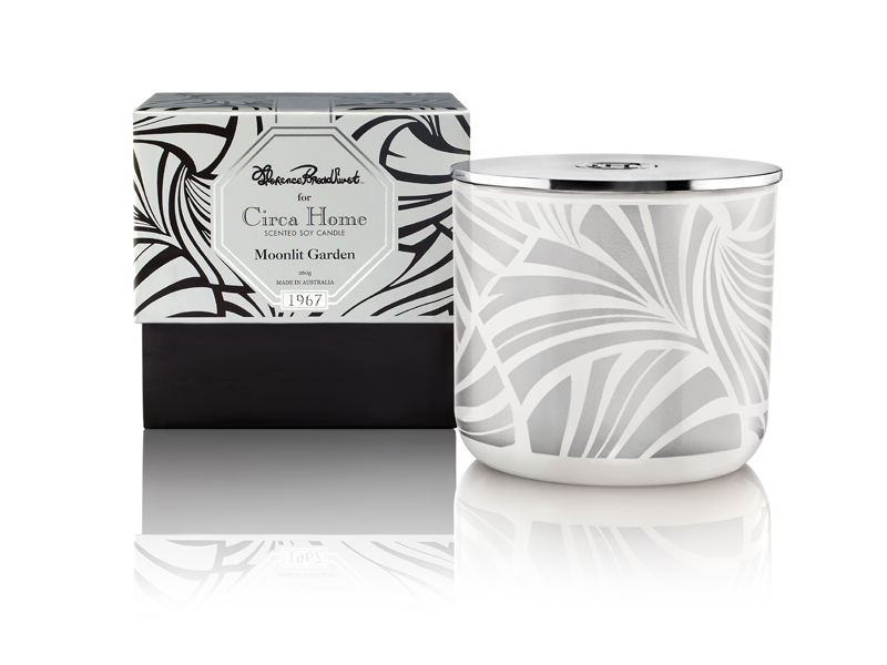 Circa Home Florence Broadhurst natural room fragrance 1967 moonlit garden classic soy candles