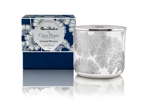 Circa Home Florence Broadhurst natural room fragrance 1926 oriental blossom classic soy candles