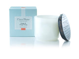 Circa Home natural home fragrance soy candles ginger and ylang ylang