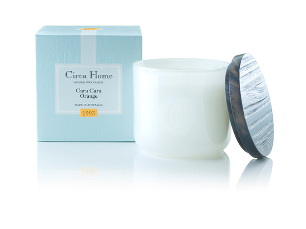 Circa Home soy candle natural home fragrance cara cara orange