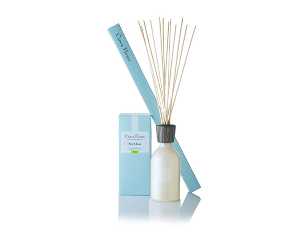 Circa Home natural room fragrance 1977 pear and lime reed diffuser