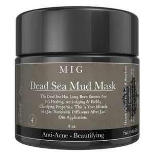 Dead Sea Mud Mask Anti-Aging • Anti-Acne • Pore Reducer • Clarifying (8 oz)