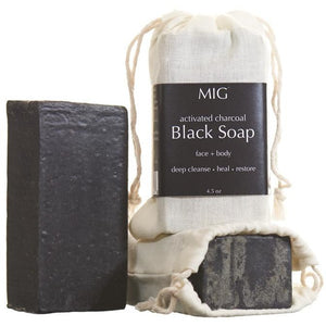 Activated Charcoal Soap Detox + Beautify