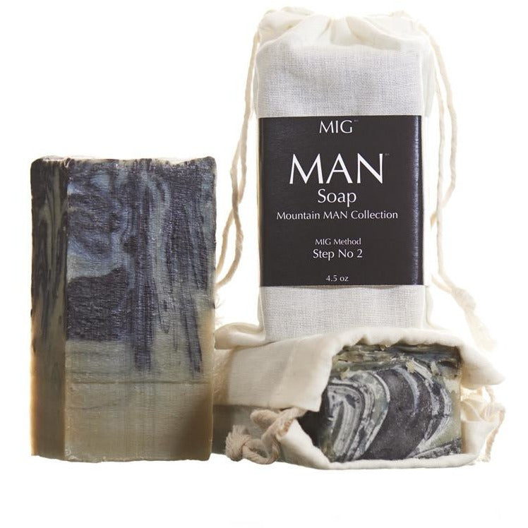 9719c4a0b7 MAN Soap™ From The Mountain MAN™ Collection (4.25 oz) - MIG Soap   Body Co.