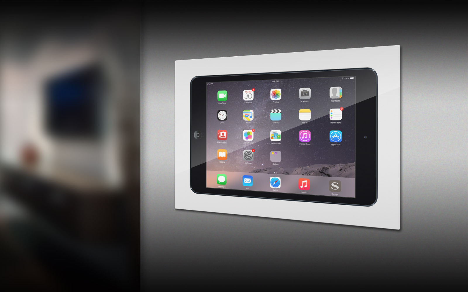 Iwalldock In Wall Tablet Mounting System