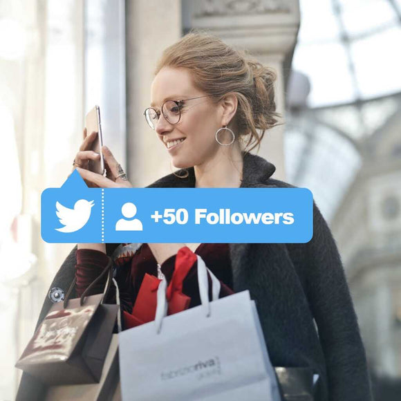 50 targeted free twitter followers