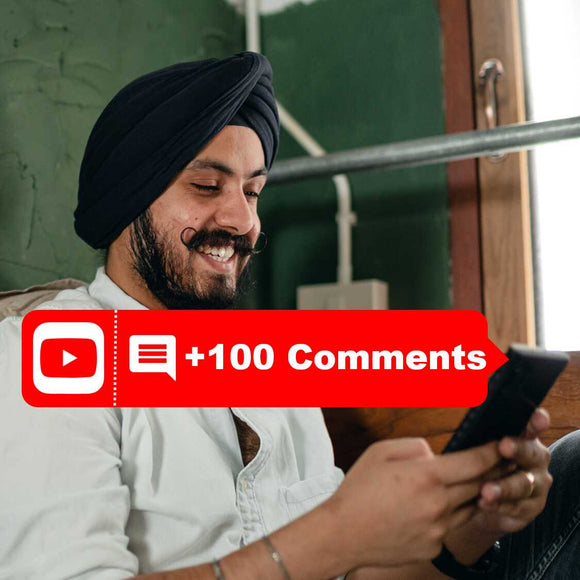 buy 100 Youtube Comments