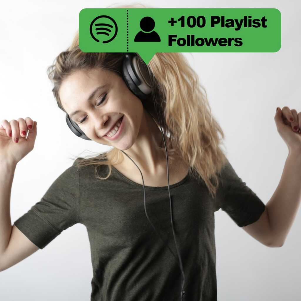 buy 100 playlist followers