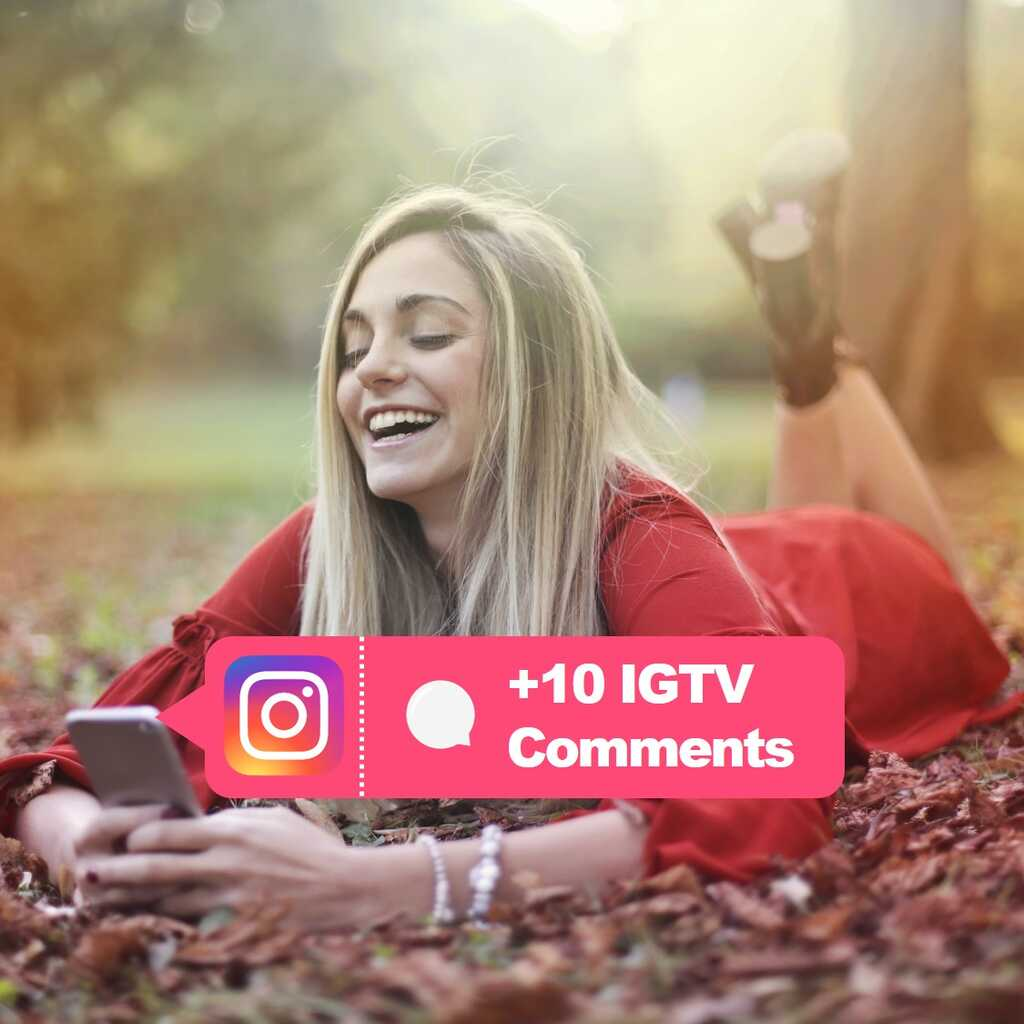 buy 10 igtv comments