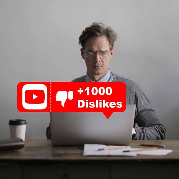 buy 1k youtube dislikes