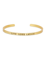 Live Love Laugh Bracelet - BANSRI                                                                 Jewelry Lounge