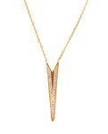 Dainty Dagger Gold Necklace