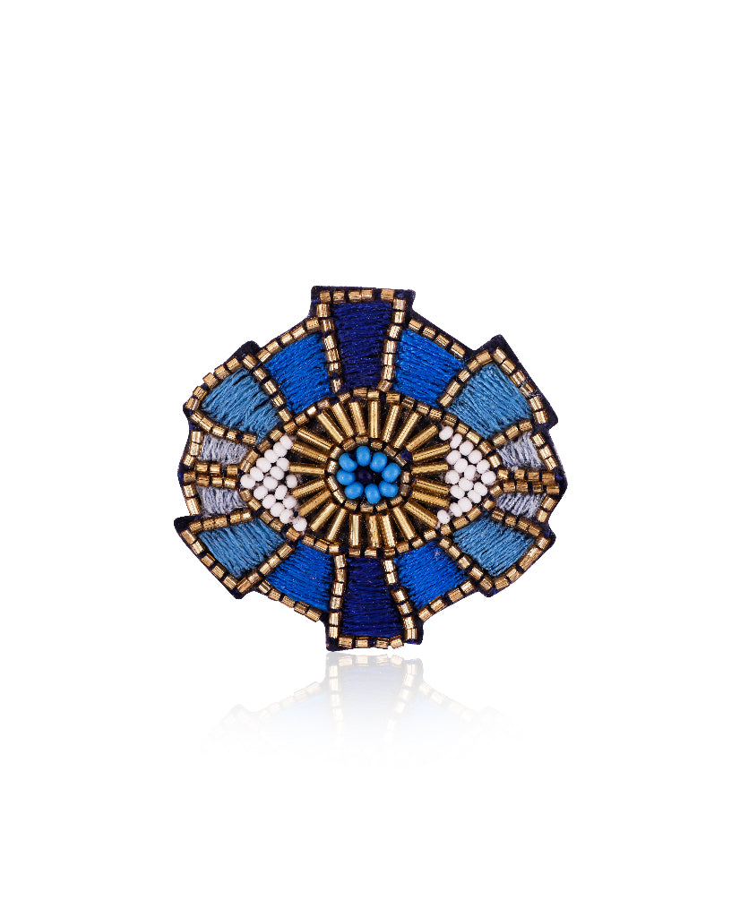 Bright and Bold Eye Broach