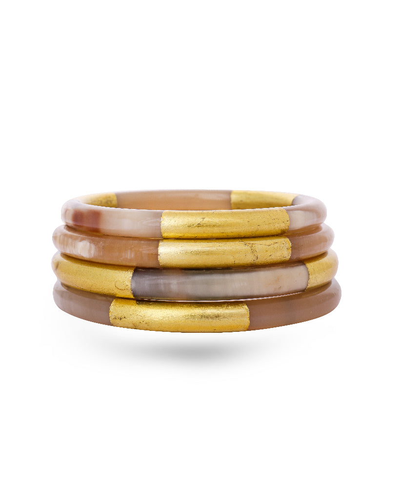 Shaded Wooden Bangles