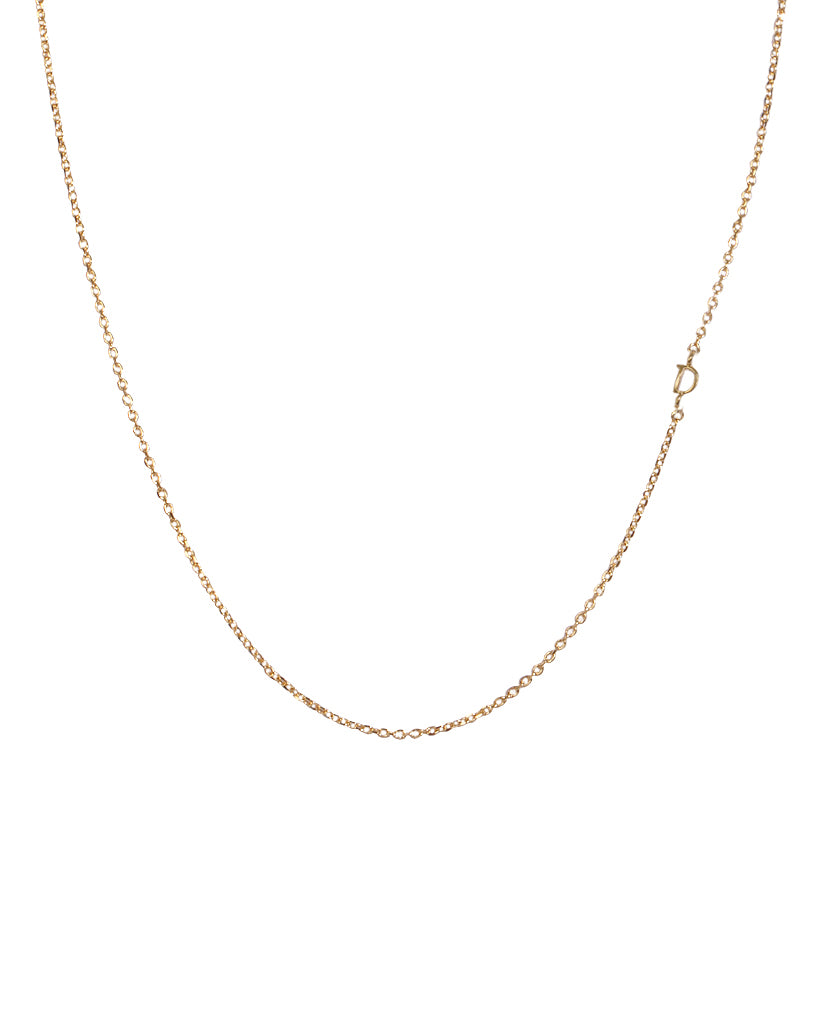 Dainty Initial 'D' Necklace