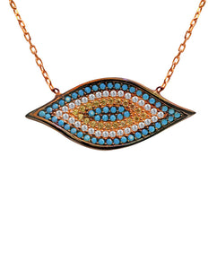 Concentric Eye Necklace