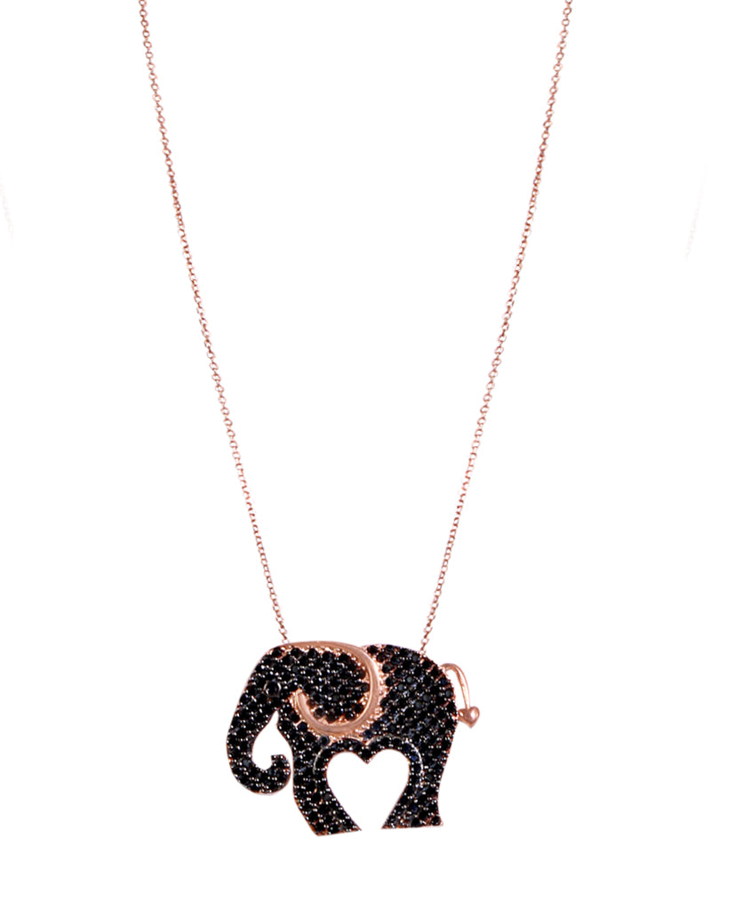 Wild and Free Elephant Necklace