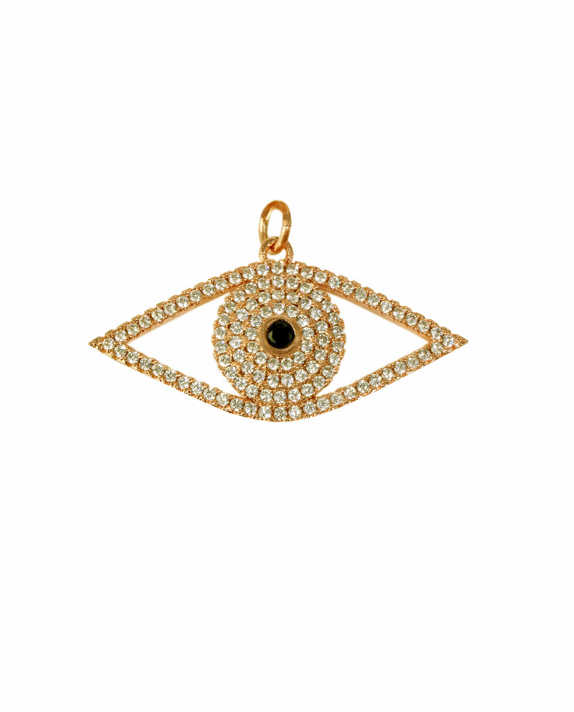 The Gold Eye Pendant