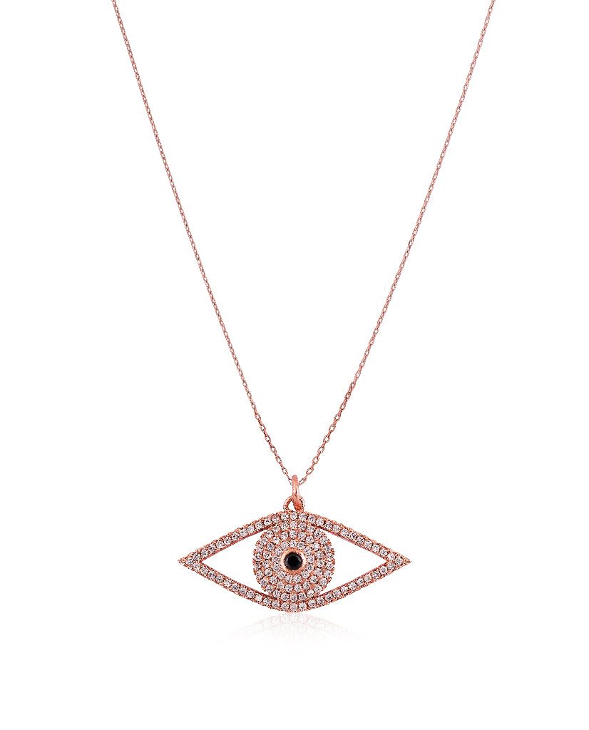 The Rosegold Eye Pendant