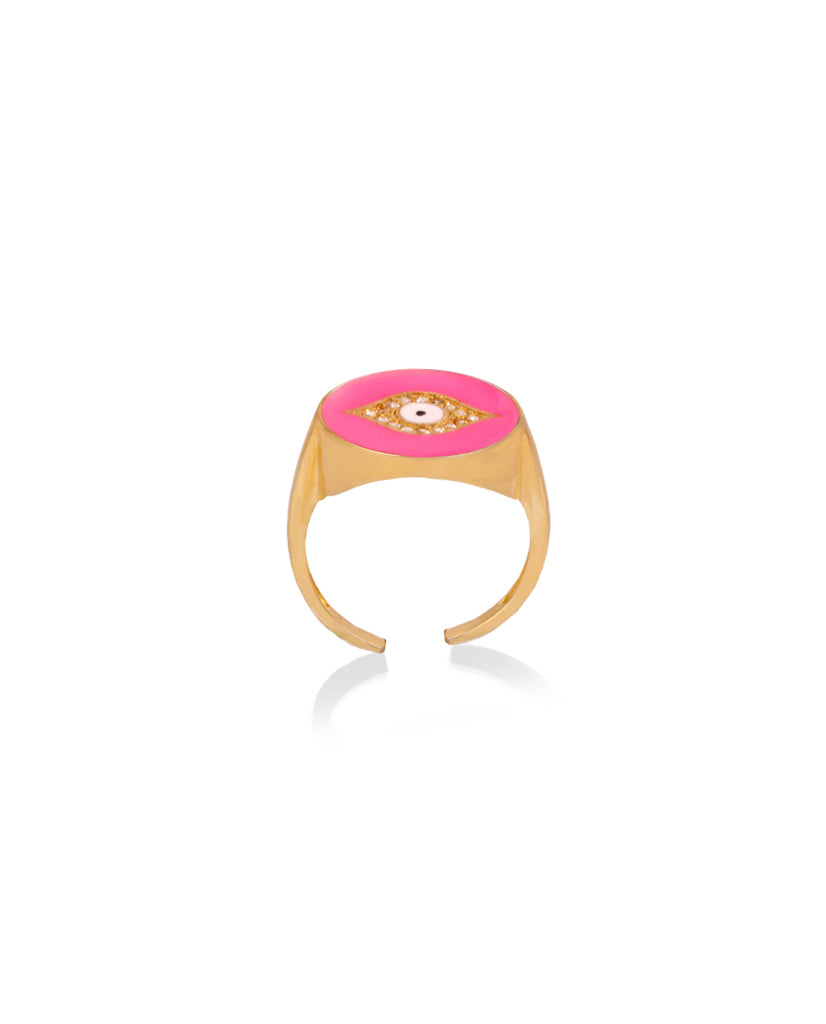 Fuchsia Third Eye Ring