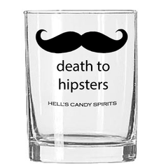 Death to Hipsters Hi-Ball Glass