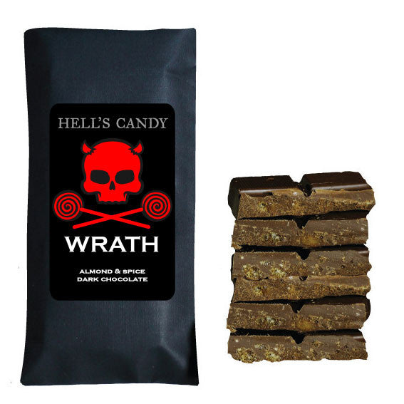 WRATH -Almond & Spice Chocolate Bar