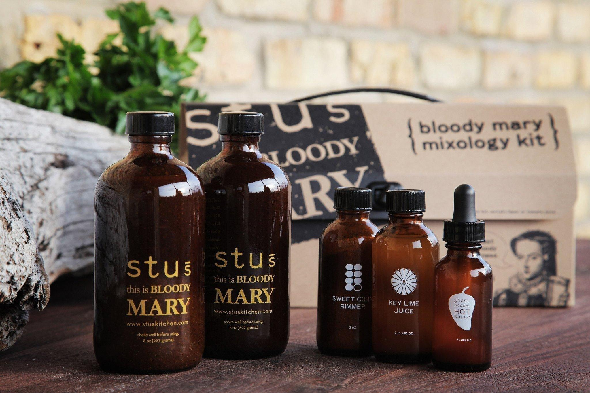Bloody Mary Mix - Stu's Bloody Mary Mixology Kit