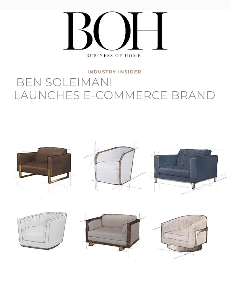 Ben Soleimani launches e-commerce brand