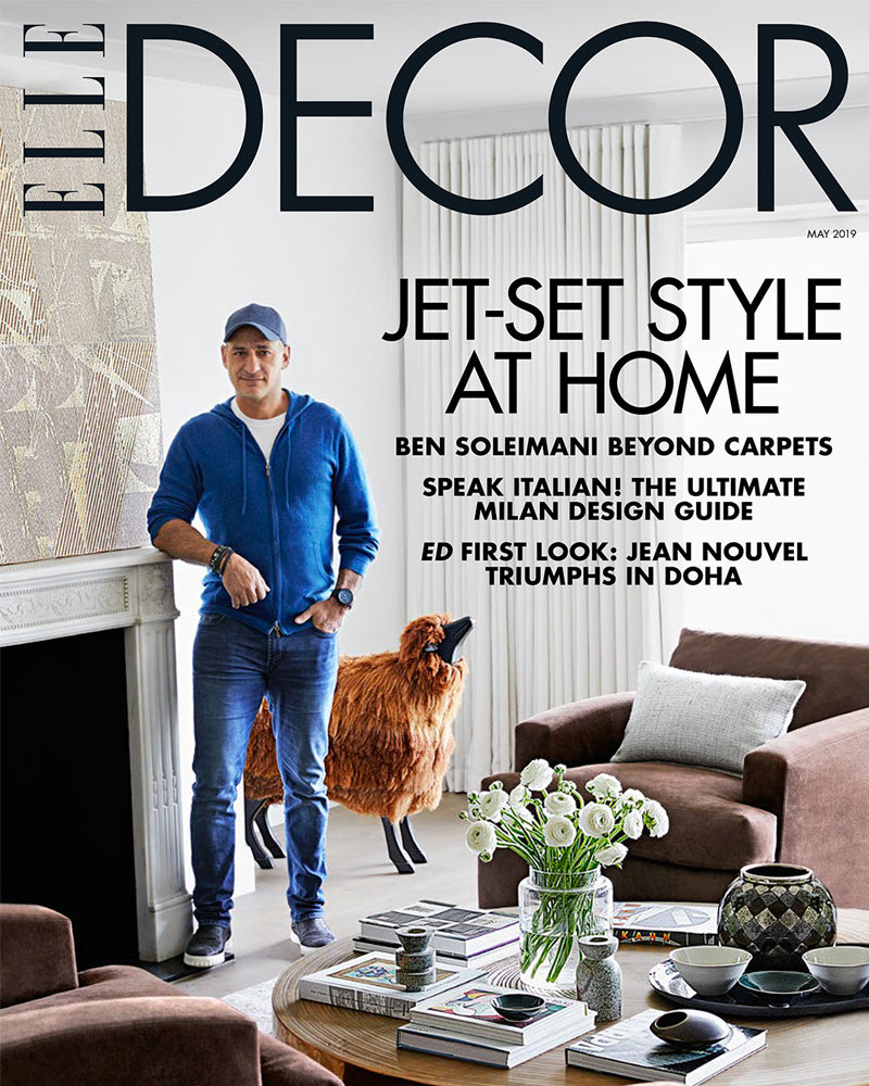 Elle Decor May 2019 Cover feature